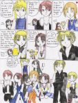 FF all stars colored comic by Yushi
