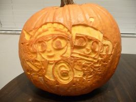 Costume Quest Pumpkin 2 by ceemdee