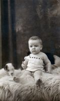 Portrait of a Baby Boy 2 by millesime
