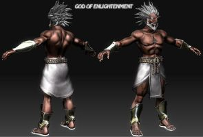 GOD OF ENLIGHTENMENT 1 by newhere