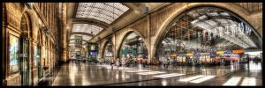 Leipzig Central Station by mrotsten