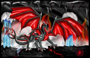 Werechu cave of hell by CrystalJoy-Creations
