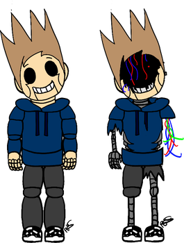 Five Nights at Eddy's: Tom by Winter-Sunflower