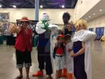 Luffy power level is over 9000 at SuperCon2014 by BigJaa