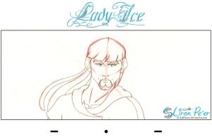 Lady Ice - Dad Rough 02 by LPDisney