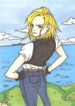 Android 18 SC by Elvatron