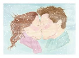 winter kiss by crucio
