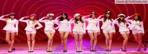 snsd genie Korean version facebook cover 1 by alisonporter1994