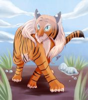 Tigress Daina by WhitePhox