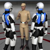 Available now for genesis 2 Galactic Officer by NVent3d