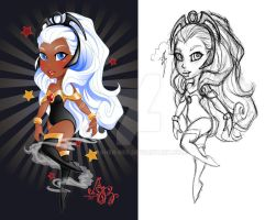 Super Cuties: Storm Charm by Asher-Bee