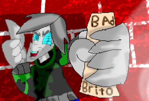 I Just Had A Bad Brito Or Something by Blurishi