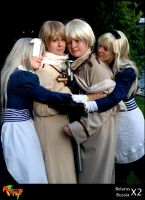 APH Cosplay: Go home plz... by Feffelini