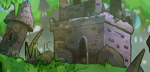 Muse - Green Banner by Yosemine
