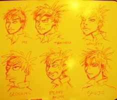 Faces: 6 Styles by PhiTuS