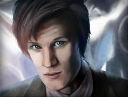 The 11th Doctor by IlikeCats123