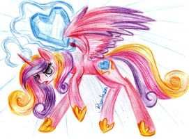 Exhibition's Art #3 - Cadence's Crystal Heart by Julunis14