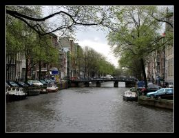Canals of Amsterdam by SurfGuy3