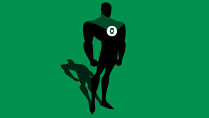 Minimal Green Lantern Wallpaper by Cheetashock