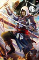 ACIV - Edward Kenway by TyrineCarver