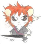 Ichigo the hamster by johnny15