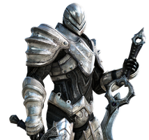 Infinity Blade II Key Art Render by Corvasce1982