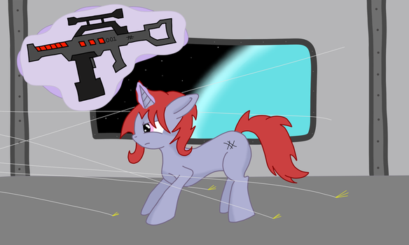 Underfire by ColdSnapPony