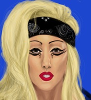 Gaga by shadowed93