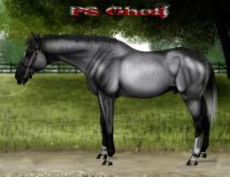 PS Ghoti at Stud by WickerWolfArt