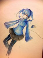 Ene, colored by Shironaii