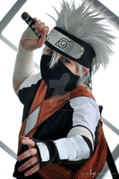 You won't beat me | Young Kakashi I by The-Ly