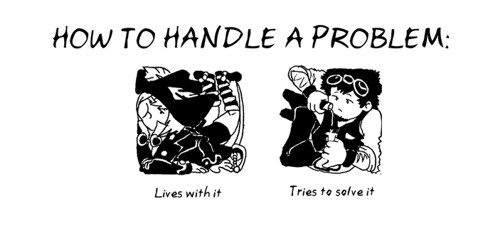 How To Handle A Problem by redkitebait