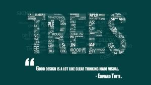 Trees Typography by Spinnre