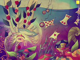 Alice in WonderSea by juv3nil