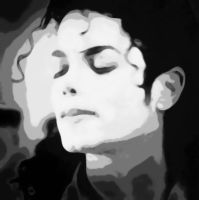 Michael Jackson Paint By Number Art Kit by numberedart