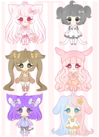Adoptables- Sanrio Inspired [Open] by myaoh