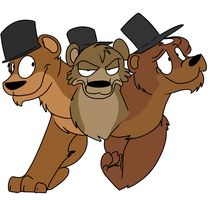 Cerby the Bear by Radical-Hat