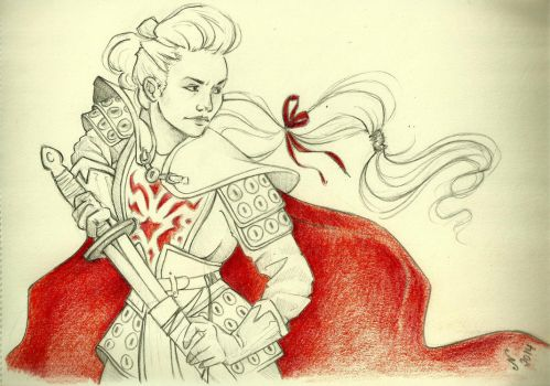 Once Upon a Time: Mulan by NataliaBagu