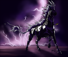 Bolt of Lightning by ShadeofShinon