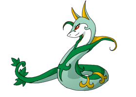 Serperior by Spiritaelia