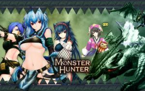 Monster Hunter by Nujin-SK