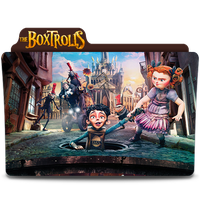 The Boxtrolls Movie Folder Icon by SharatJ