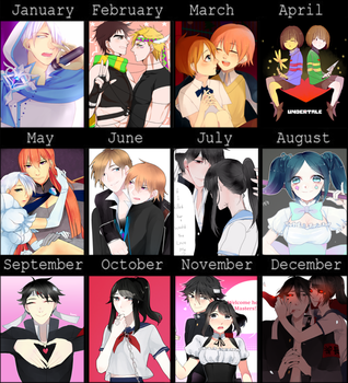 2016 Summary of Art by Koumi-senpai