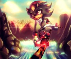 Shadow the Hedgehog by Iris-icecry