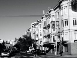 San Fran Black and White by Snakelady39