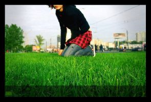 about me and grass by lafaette