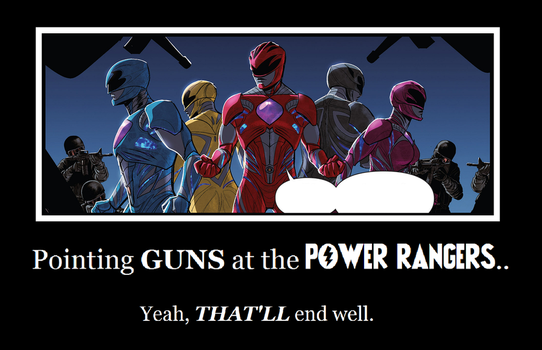 Soldiers vs. The Power Rangers by MetroXLR