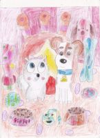 Max And Gidgets Secret Hideout! by omgpeeps