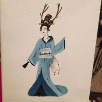 Deer Oiran by KaterineHowardRose