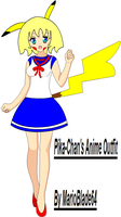 Pika-Chan's Anime Outfit by MarioBlade64